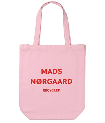 Mads Nørgaard Athene net/bag - Recycled rose/red