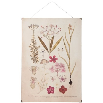 Ib laursen Planche rosa blomster